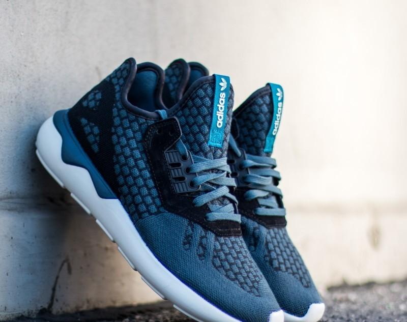 adidas tubular runner blue